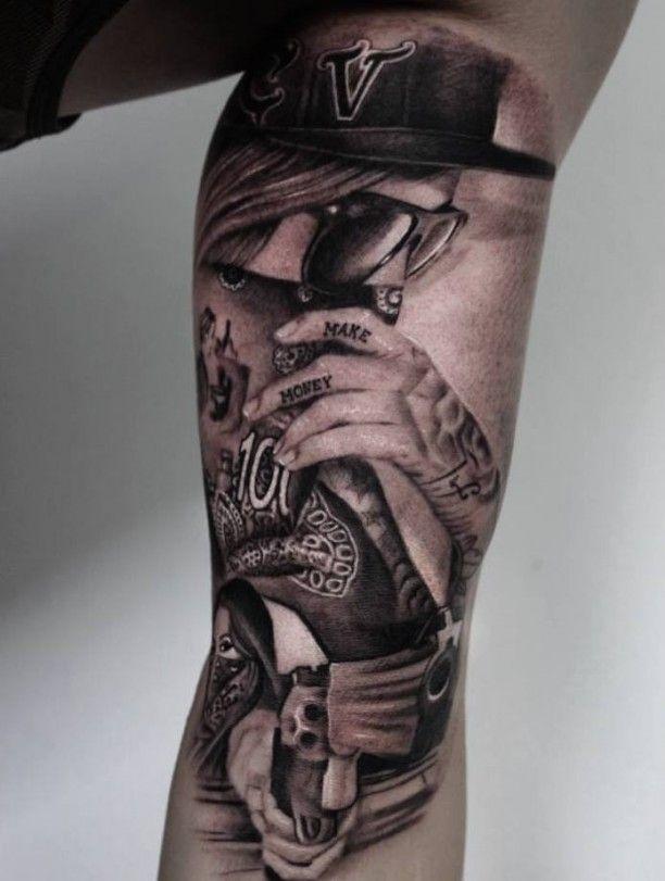 tattoo gangster 016