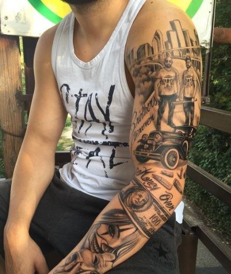 tattoo gangster 019