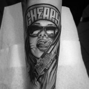 tattoo gangster 022