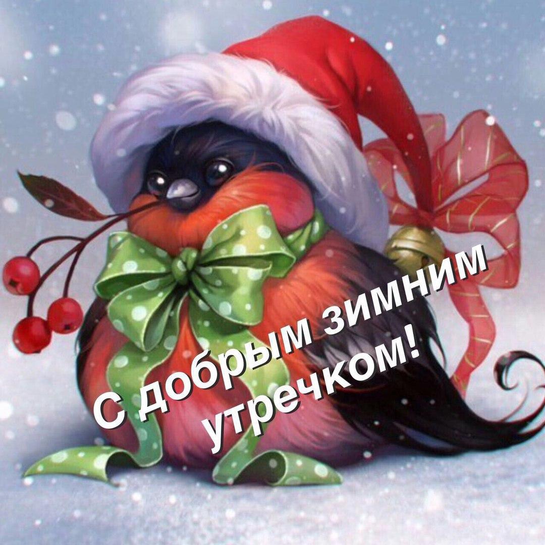 Доброе зимнее утро красивые картинки (4)