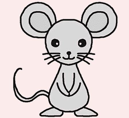 Красивые рисунки крысы для срисовки (1)