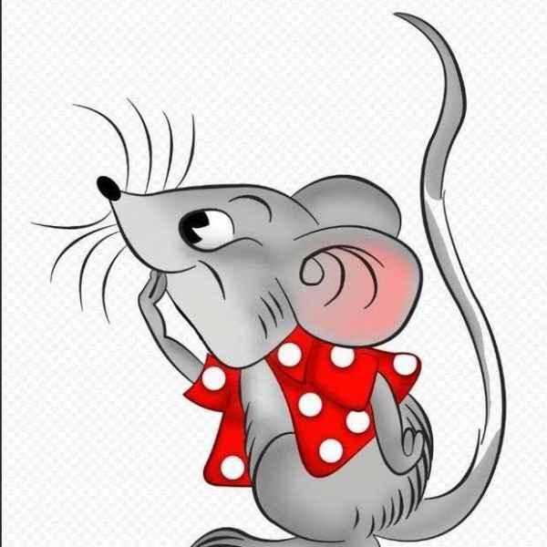 Красивые рисунки крысы для срисовки (11)