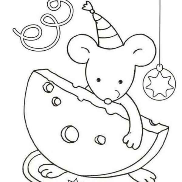 Красивые рисунки крысы для срисовки (15)