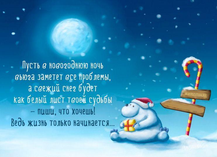 Поздравляю с новым годом   открытки прикольные (19)