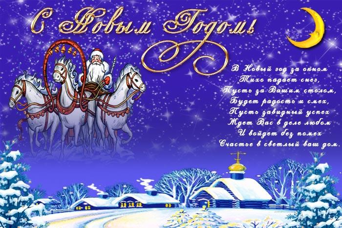Поздравляю с новым годом   открытки прикольные (9)