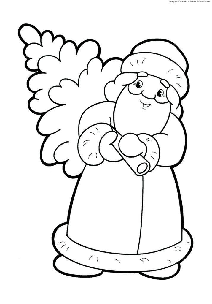 Рисунки про новый год для срисовки (16)