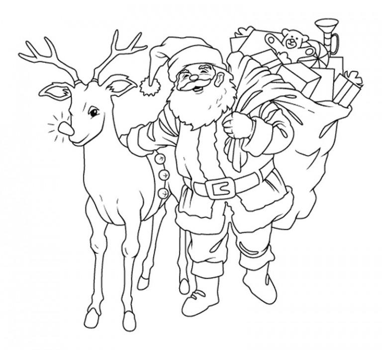 Рисунки про новый год для срисовки (2)