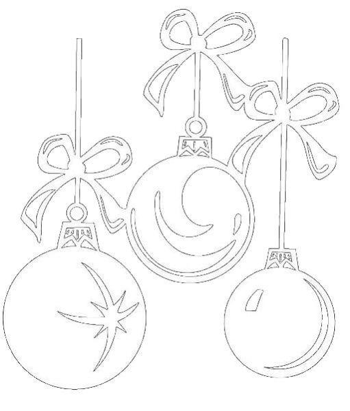 Рисунки про новый год для срисовки (25)