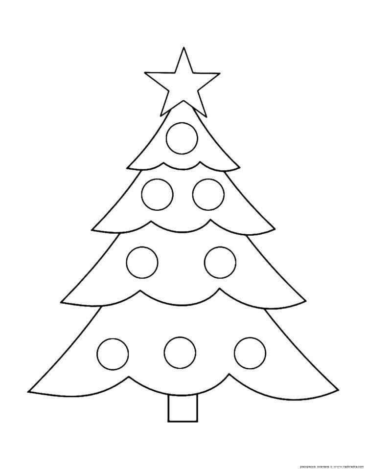 Рисунки про новый год для срисовки (26)