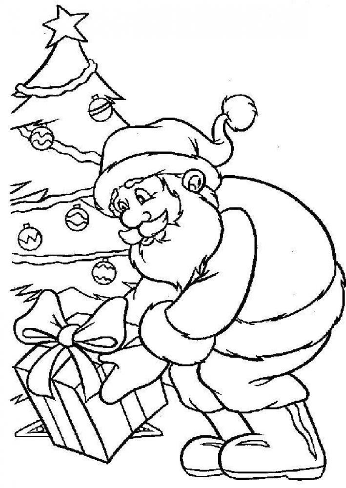 Рисунки про новый год для срисовки (36)