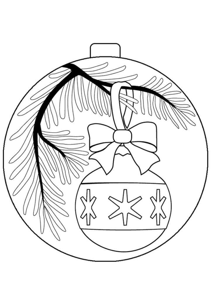 Рисунки про новый год для срисовки (5)