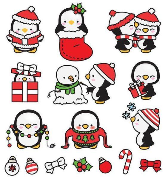 Рисунки про новый год для срисовки (9)