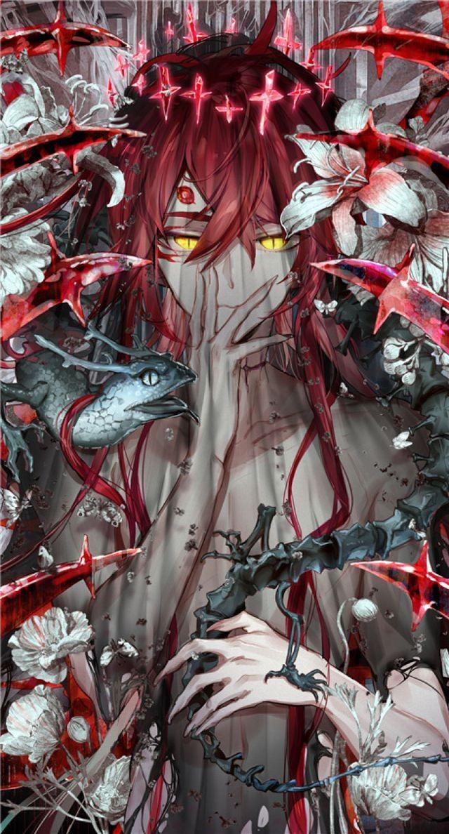 Арт демона аниме (15)