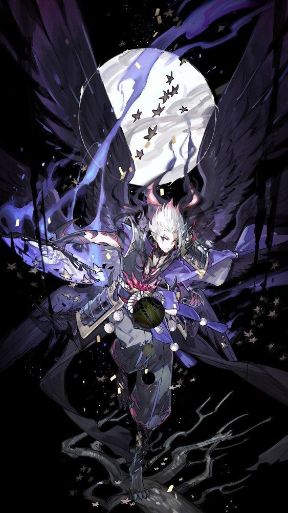 Арт демона аниме (2)