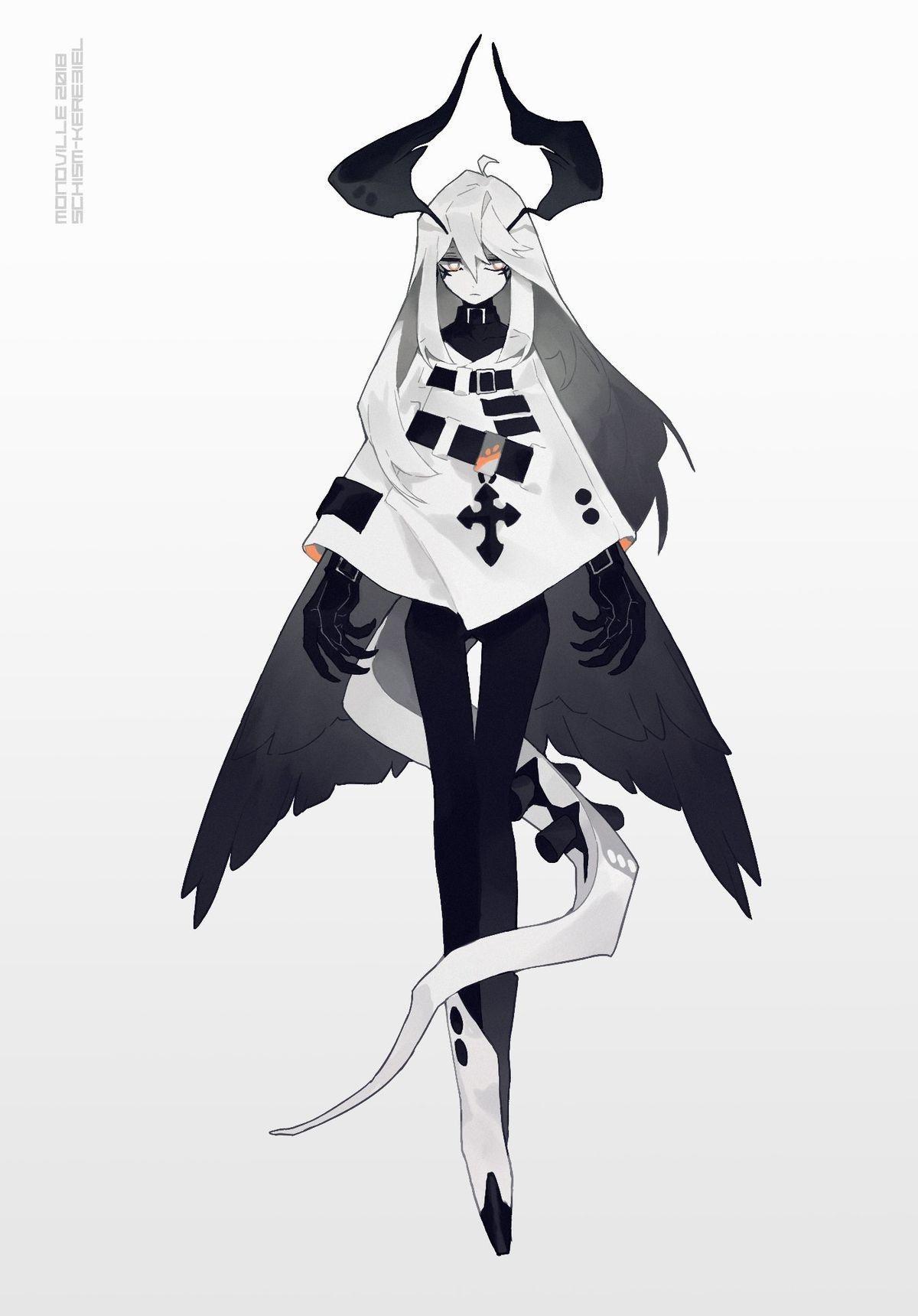 Арт демона аниме (23)