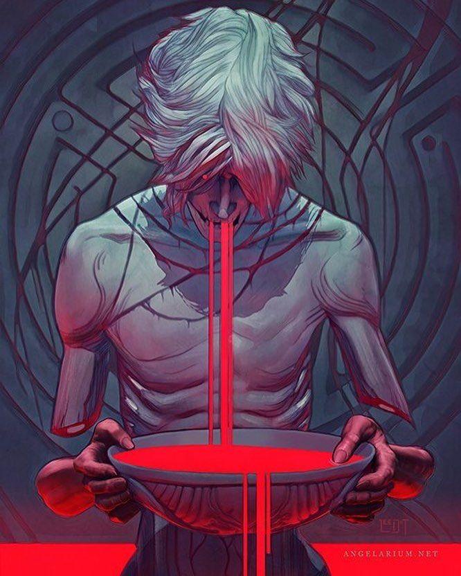 Арт демона аниме (24)