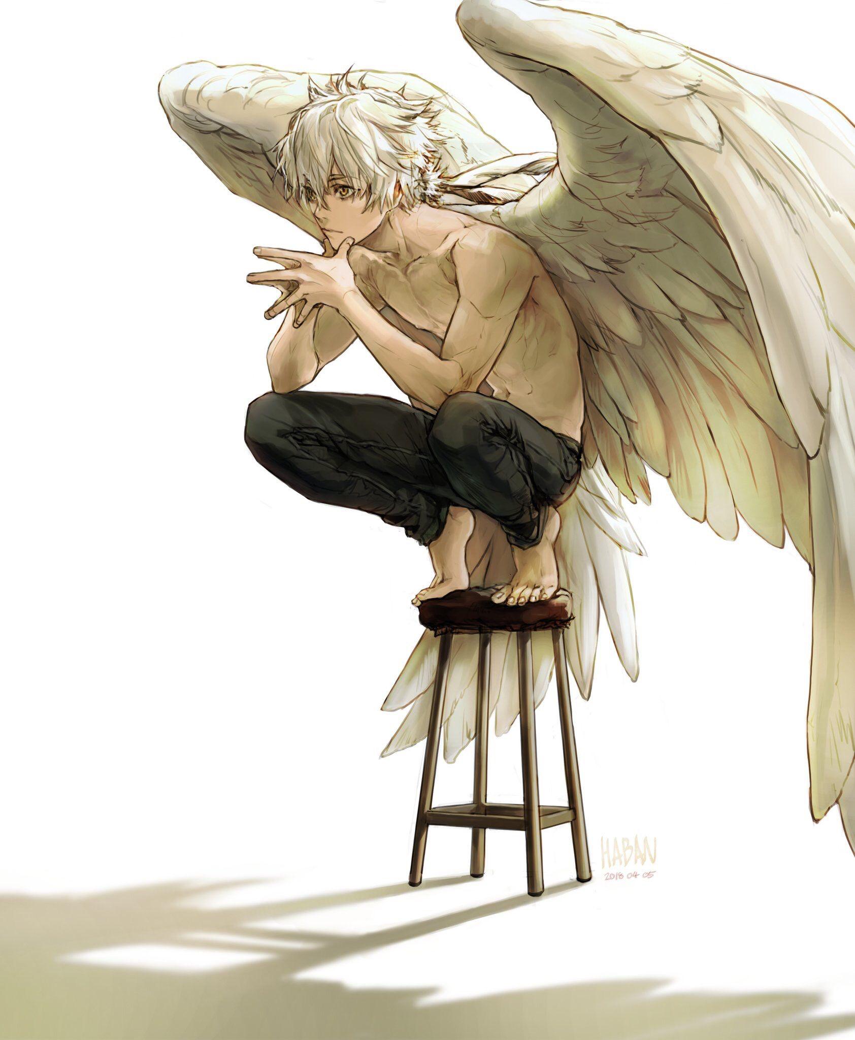 Арт демона аниме (6)