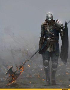 Арт рыцаря 029