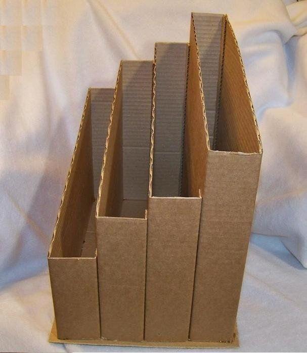 Горизонтальные лотки для бумаги своими руками 001