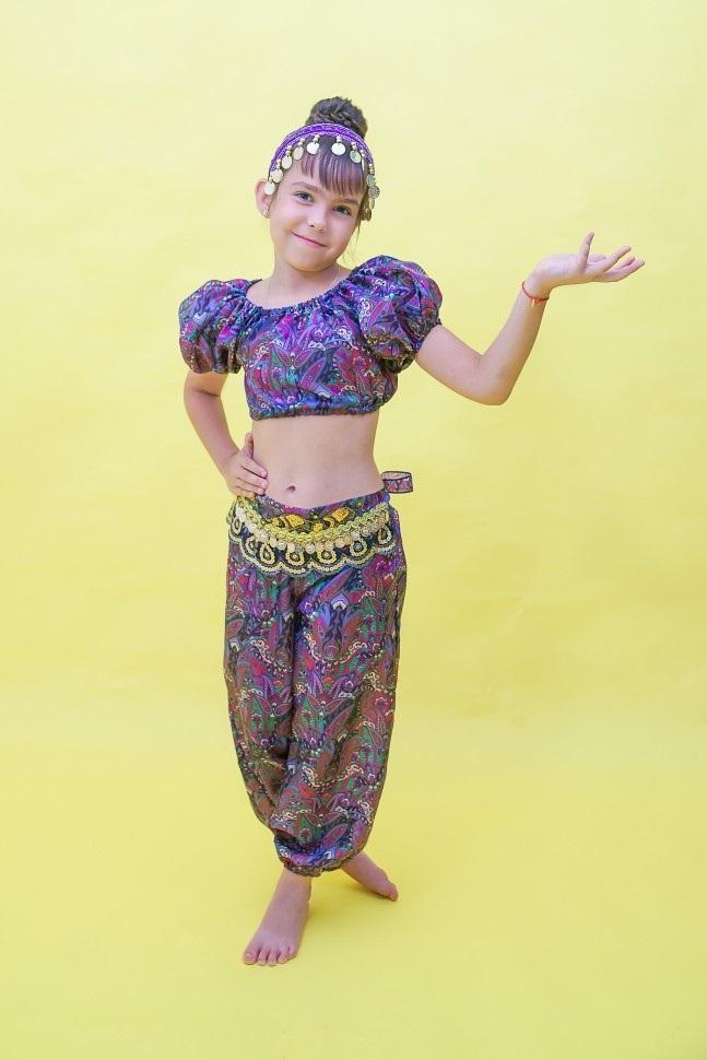 Детский костюм для восточных танцев 001