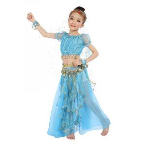Детский костюм для восточных танцев 029