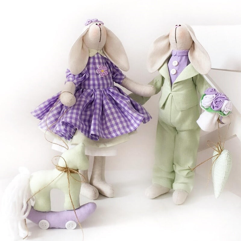 Куклы ручной работы фото 028