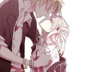 Милые картинки аниме пары (11)