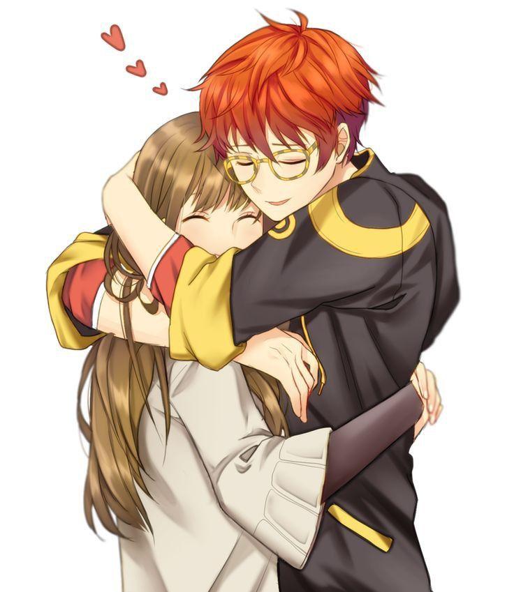 Милые картинки аниме пары (2)