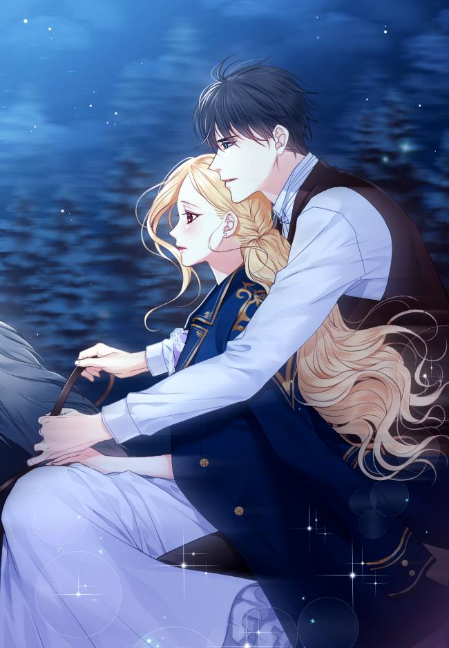 Милые картинки аниме пары (4)
