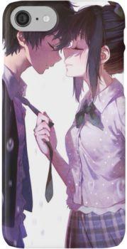 Милые картинки аниме пары (9)