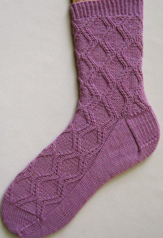 Носки с аранами спицами схемы (1)