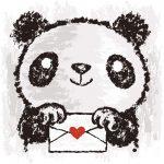 Рисунки панды — коллекция картинок