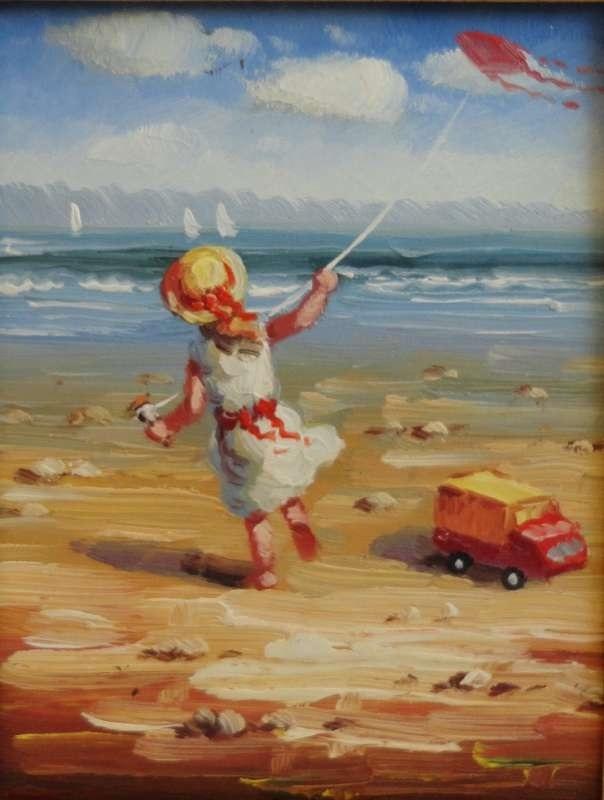 Рисунок маслом для детей 018