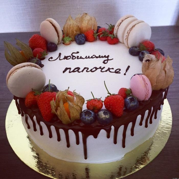 Торт папе на день рождения фото 001