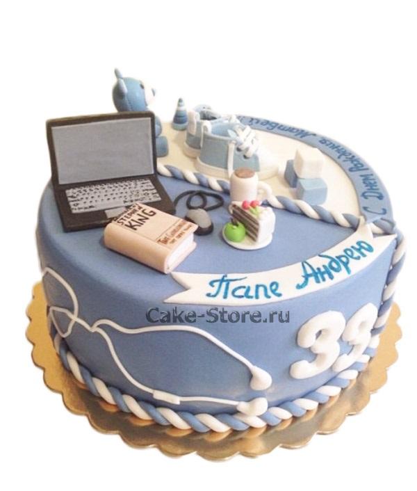 Торт папе на день рождения фото 030