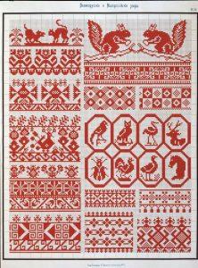 Узоры вышивания крестиком 025