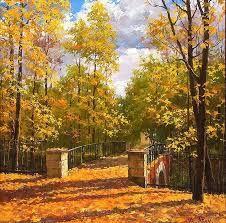 Фото рисунки осенний пейзаж (13)