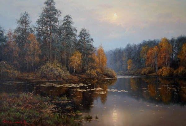 Фото рисунки осенний пейзаж (16)