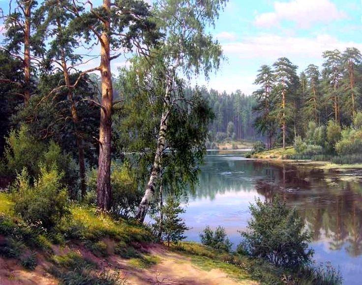 Фото рисунки осенний пейзаж (17)