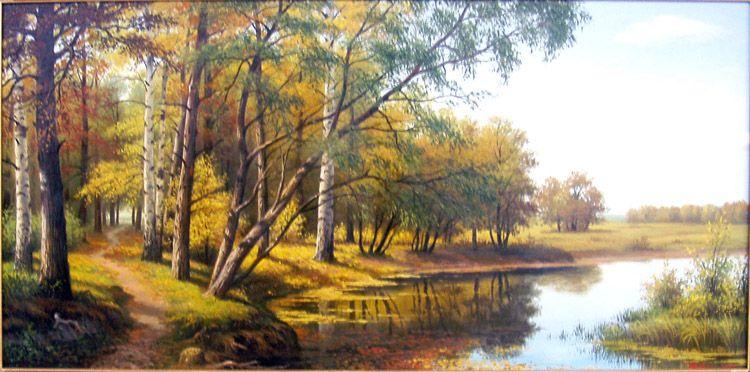 Фото рисунки осенний пейзаж (18)