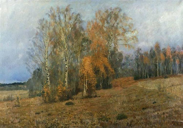 Фото рисунки осенний пейзаж (2)