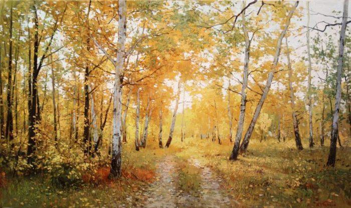 Фото рисунки осенний пейзаж (4)