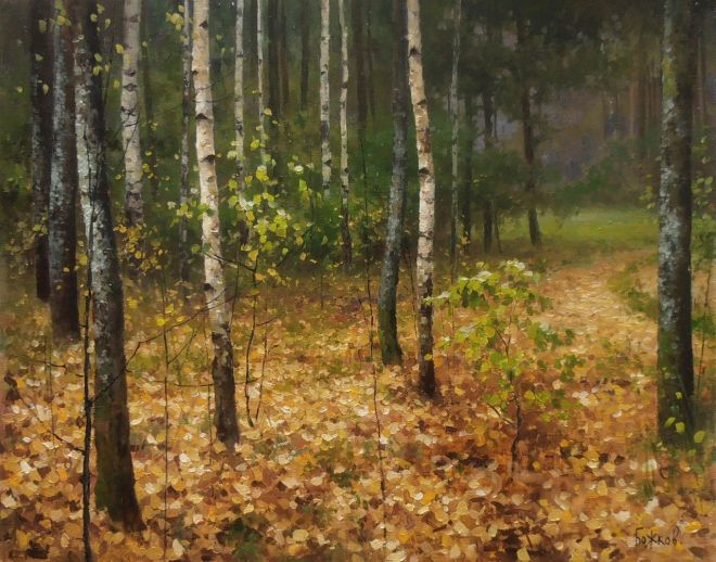 Фото рисунки осенний пейзаж (6)