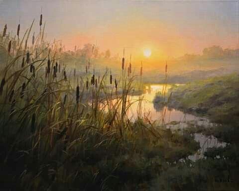 Фото рисунки осенний пейзаж (8)