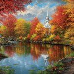 Фото рисунки осенний пейзаж — красивая коллекция