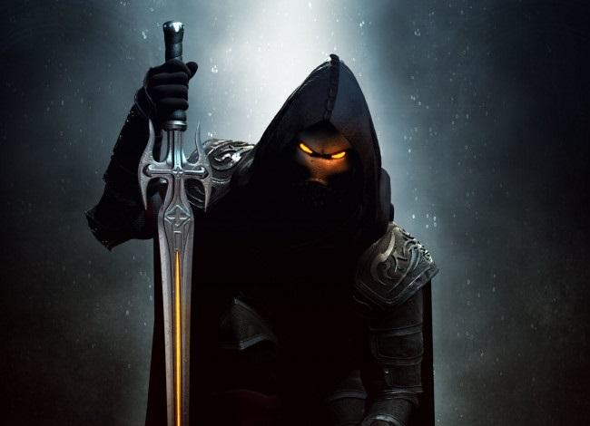 Фэнтези меч арт 015