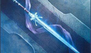 Фэнтези меч арт 017