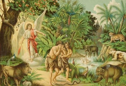 Адам и ева поделки 011