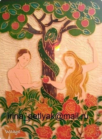 Адам и ева поделки 016