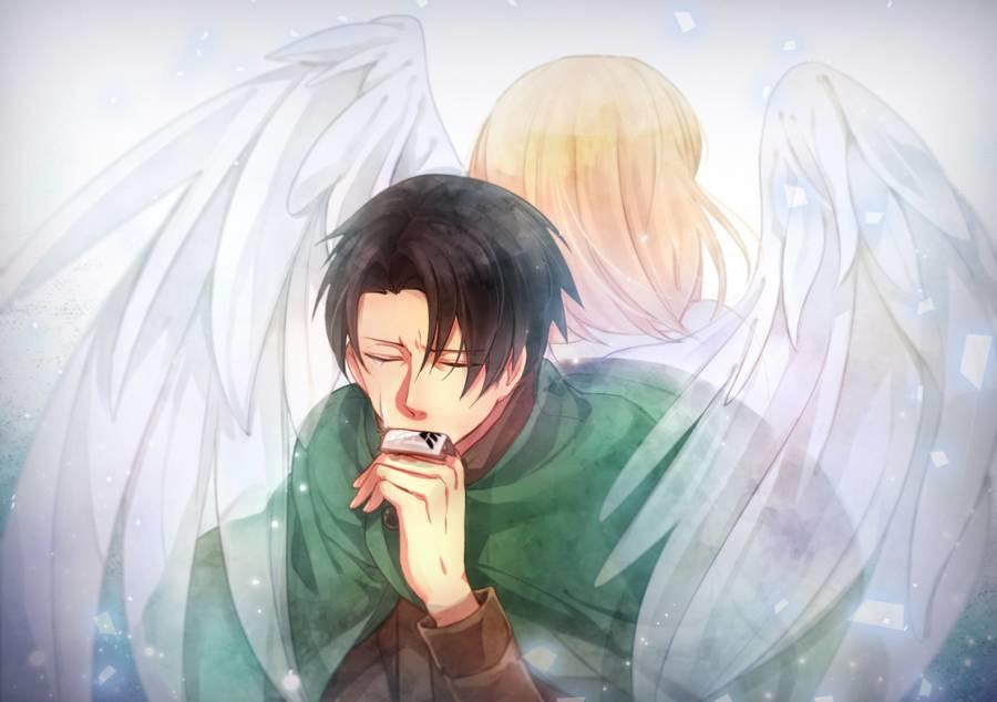 Аниме рисунки ангелов 015